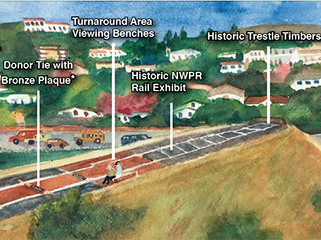 Artist rendering of Trestle Trail