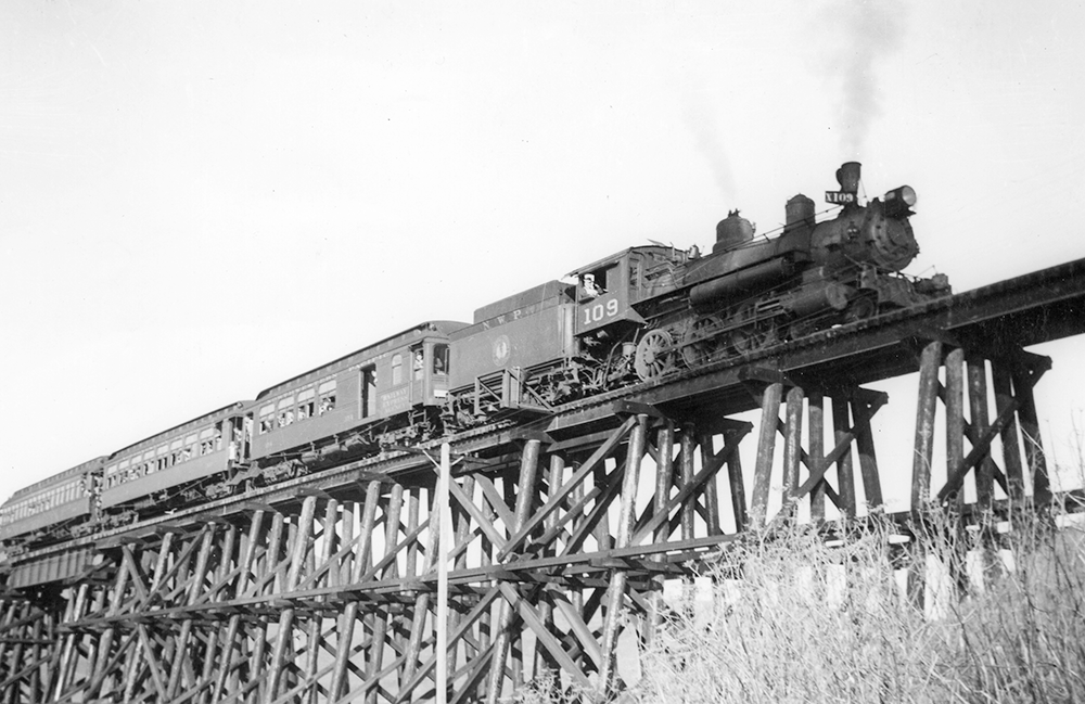 The Tiburon Trestle 1941
